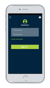 GreenRoad Mobile App Login