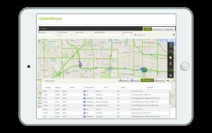 Resource Locator Map view